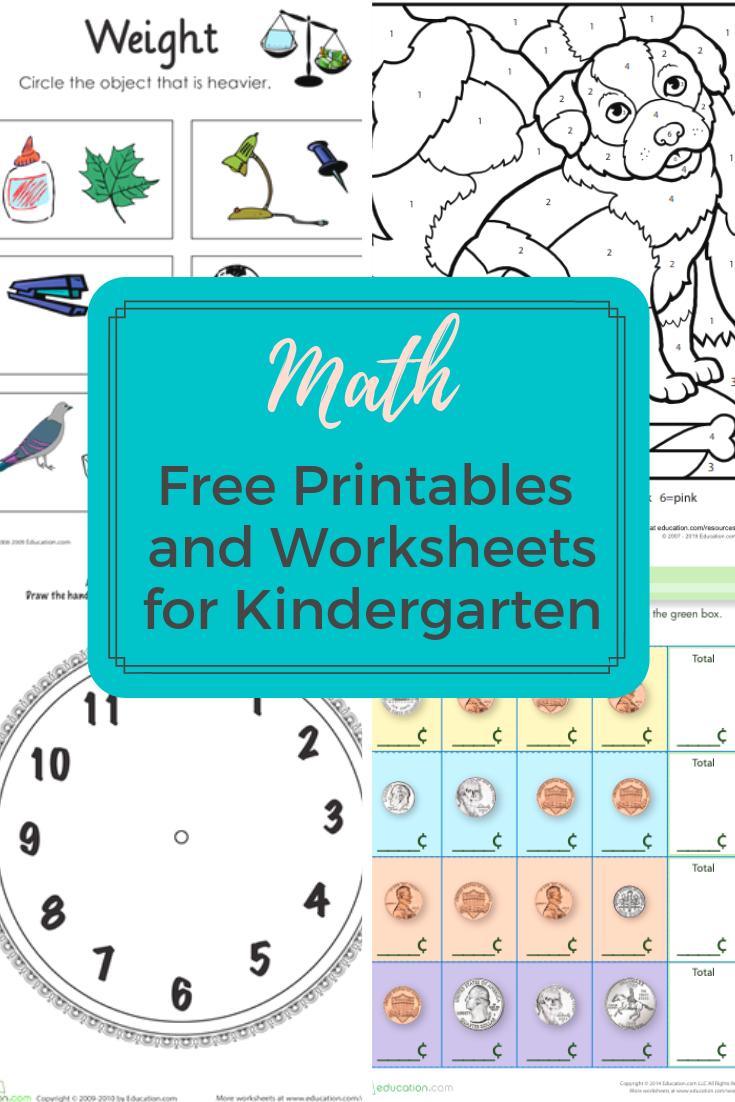 Kindergarten Math Worksheets And Printables Access More Than A Thousand Kindergarten Math Free Math Lesson Plans Elementary Kindergarten Math Worksheets Free [ 1102 x 735 Pixel ]
