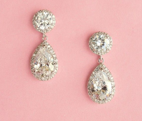 drop earrings are a must
