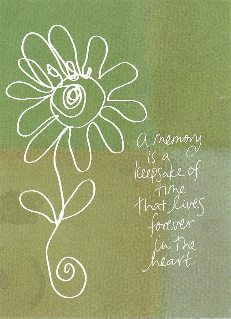 A memory the spoken and unspoken word pinterest memorial allcare cremation center how to write a sympathy card izmirmasajfo Images