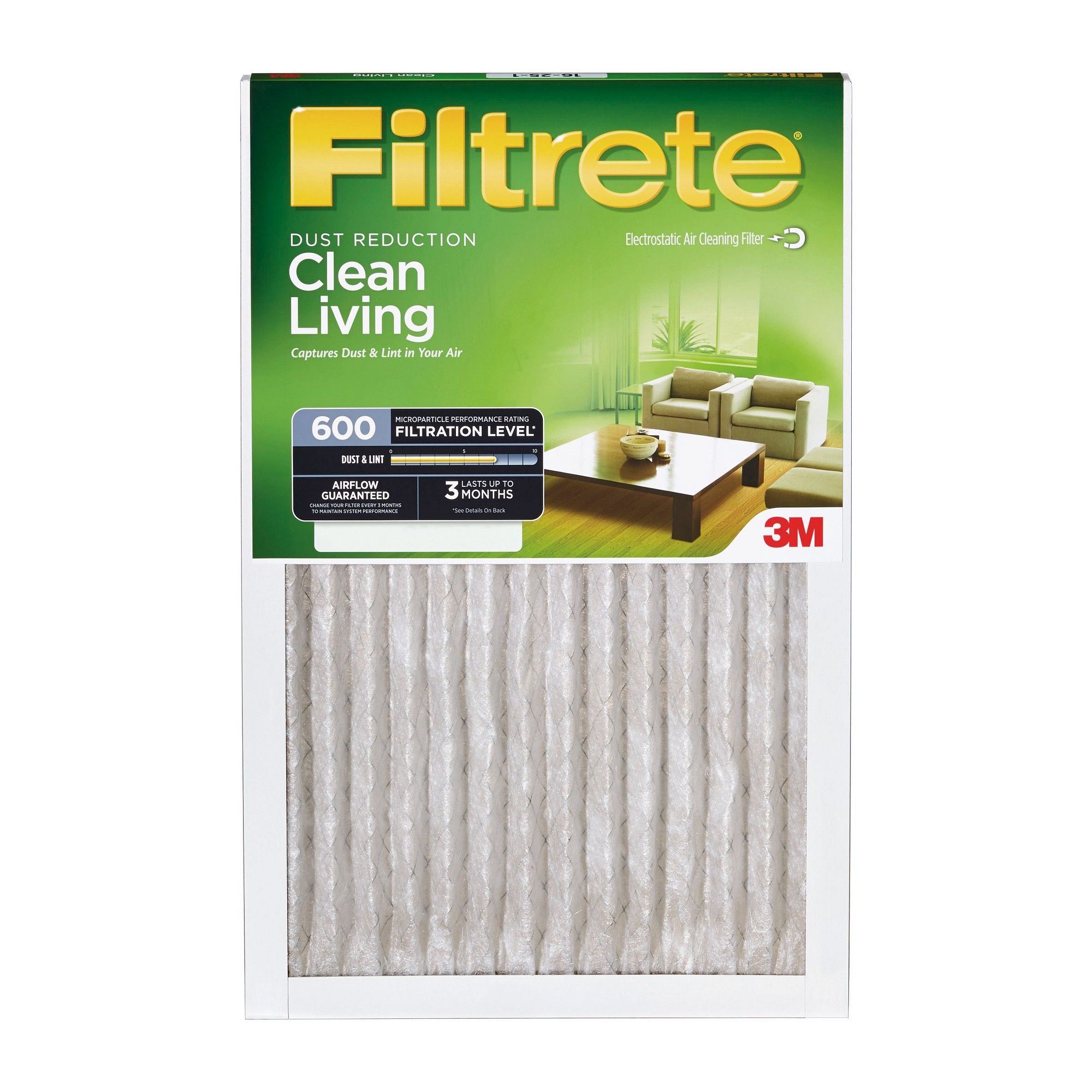3M Filtrete 20x20x1 Dust Reduction Air Filter