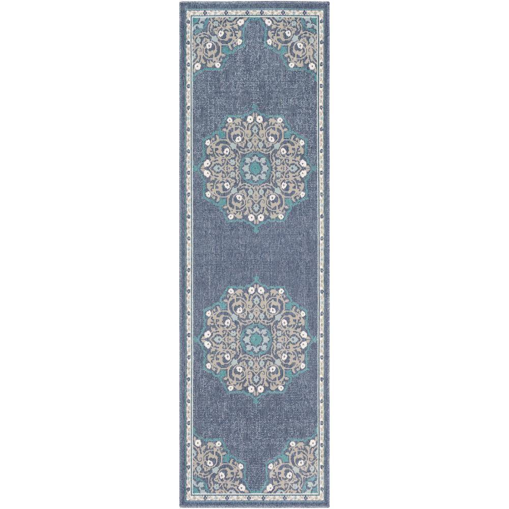 Artistic Weavers Felix Denim 2 Ft 3 In X 11 Ft 9 In Oriental