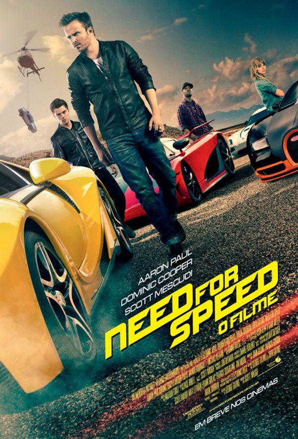 Need For Speed O Filme Teve Divulgado Os Cartazes Nacionais