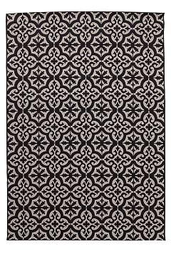 Ellos Home Musta Rachel-matto 160x230 cm