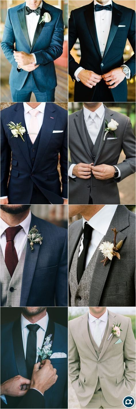Wedding Ideas » Groom » 36 Groom Suit That Express Your Unique Styles and Pers    is part of Wedding suits men grey -