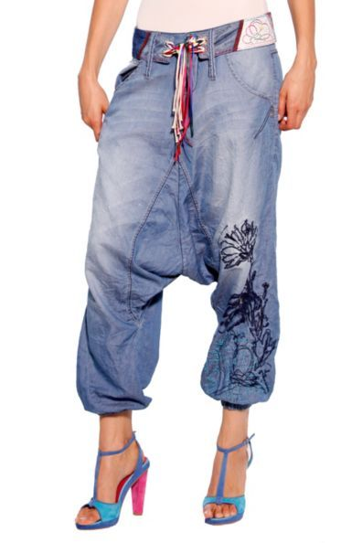 Love love this MC Hammer like pants from Desigual Cinturón Turko Denim  trousers edf21777c7c