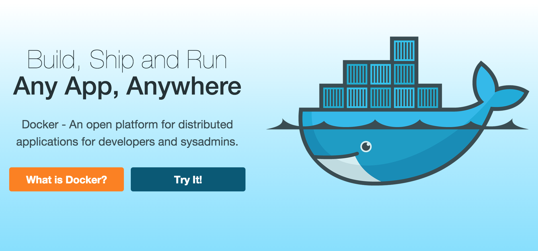 Docker Build, Ship, and Run Any App, Anywhere (With