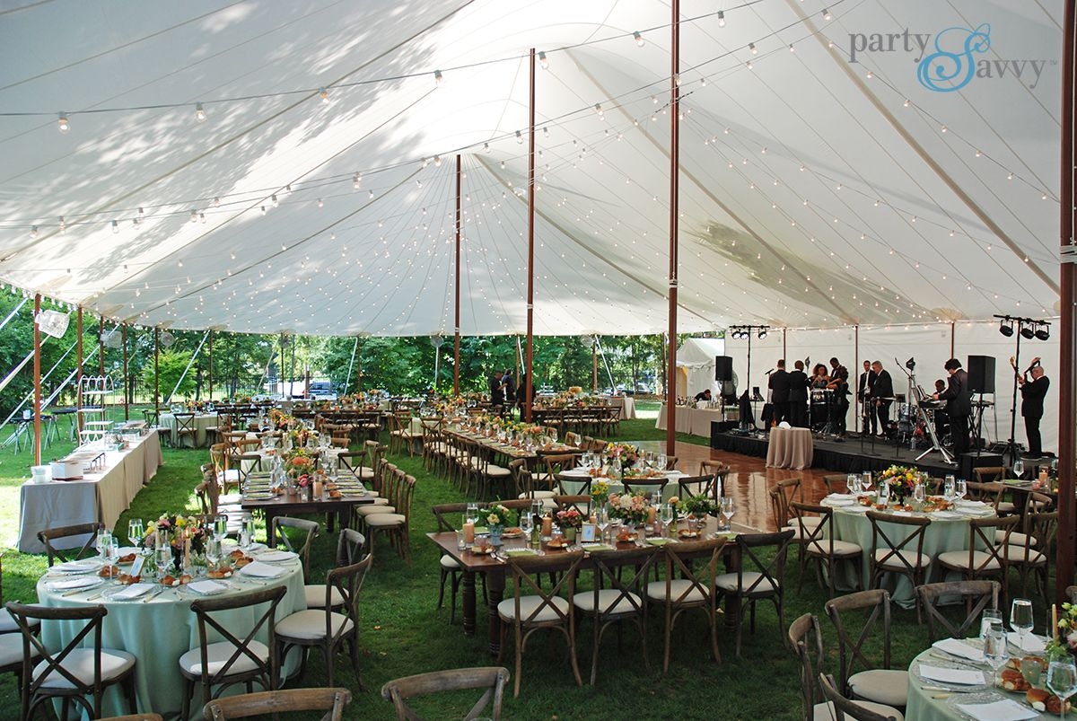 Luxury Tented Wedding Partysavvy Wedding Rentals Pittsburgh Pa With Images Wedding Rentals Event Tent Tent Wedding