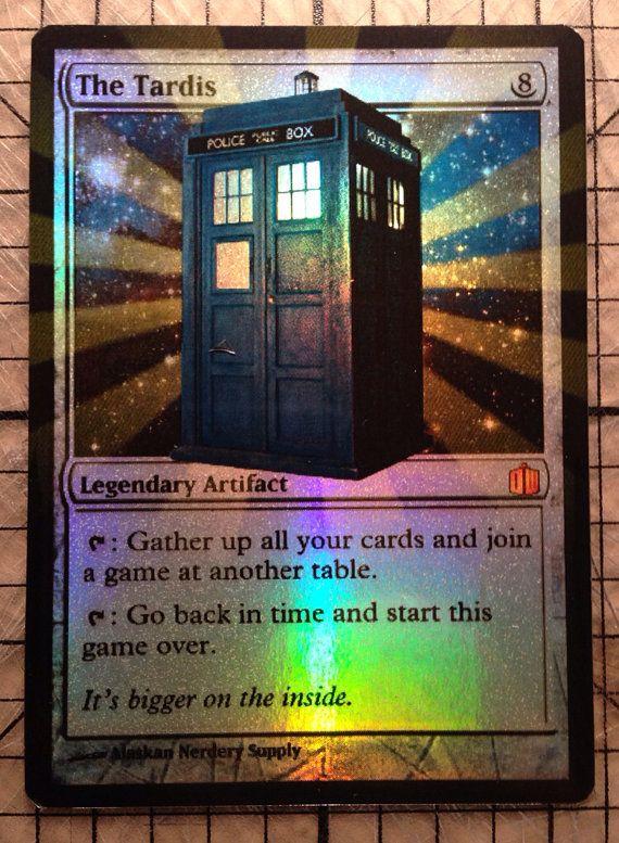 Custom foil magic cards