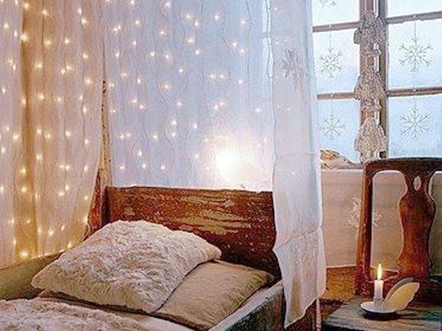 Guirnaldas de luces ¿Solo en Navidad? - Muebles y decoración