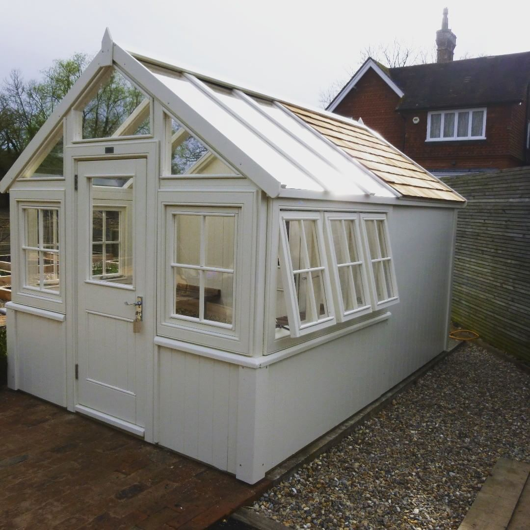 The Design For This Half #greenhouse, Half #shed Is Just