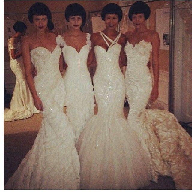 Designed by Mark Zunino for Kleinfeld bridal | Bridal Style | Pinterest