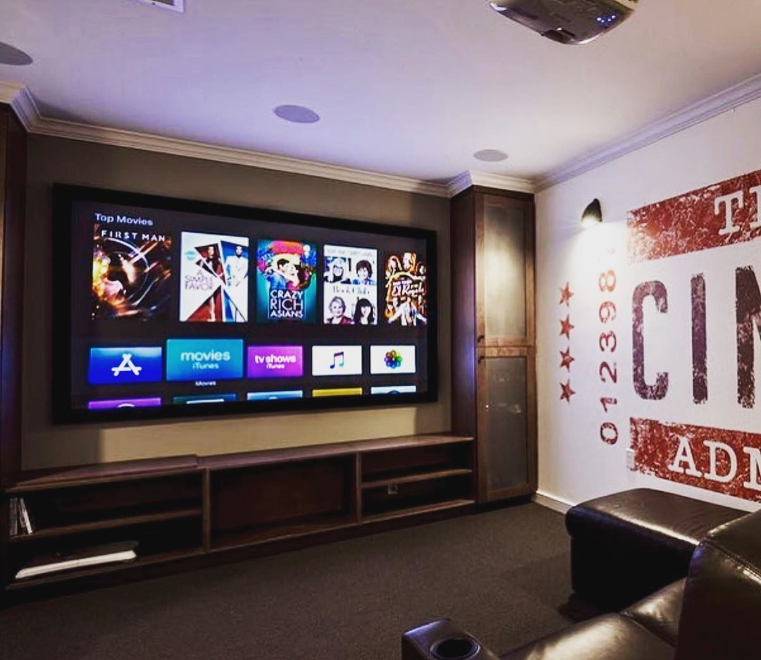 Cozy Hometheater: Nice And Cozy Home Theater Room By @unlimitedintegration