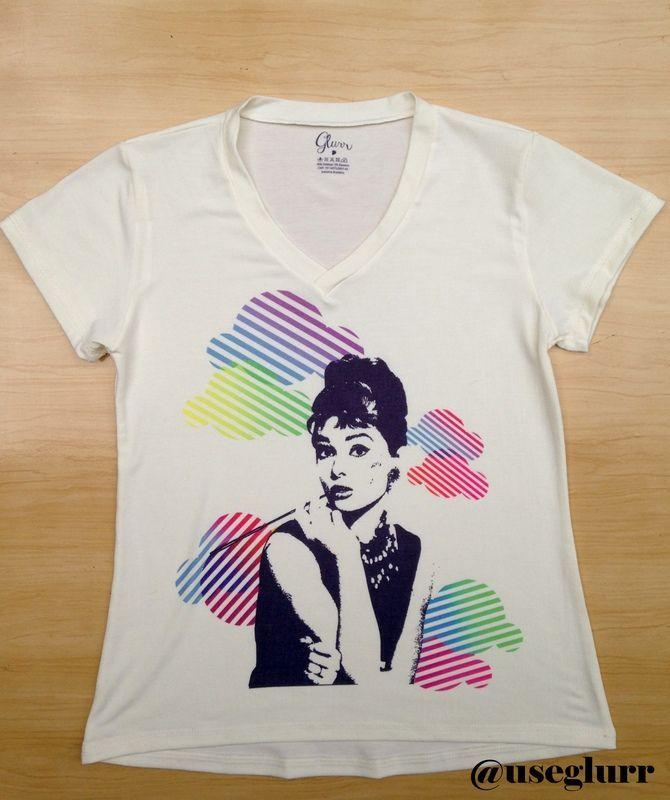 Tshirt Audrey Boom Colors - Glurr Tshirts