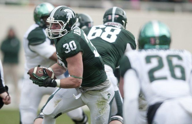 Michigan State Running Back Riley Bullough Organizes Spartans Moped Squad Michigan State Michigan State Spartans Football Msu Spartans Football