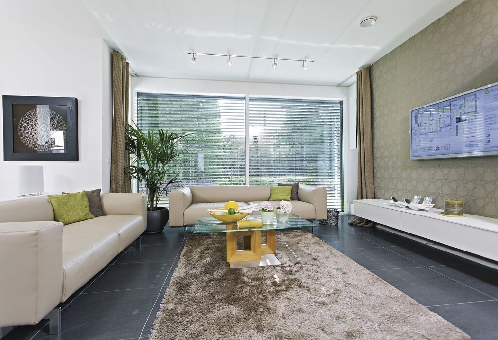 Wohnzimmer Ideen Beige Grau City Life   Haus 250_WeberHaus   Wohnzimmer  Einrichten Gestalten   Einrichtungsideen Haus Grundriss Auf HausbauDirekt