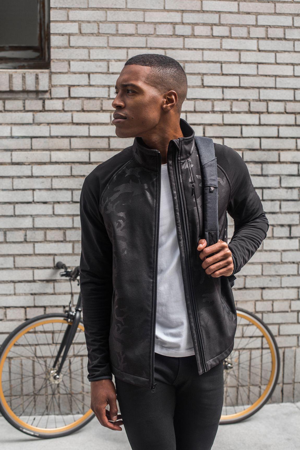 Bike To Work Stealth Jacket Black Mens Fashion Smart Jackets Leather Jacket Men
