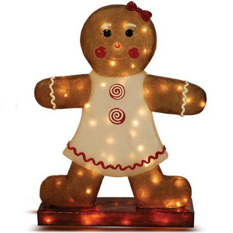 Gingerbread Christmas Decor For Your Yard Gingerbread Christmas Decor Gingerbread Girl Gingerbread House Decorations