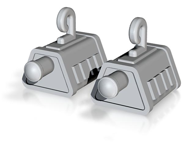 self sealing stembolt earrings enterprise xd design on shapeways
