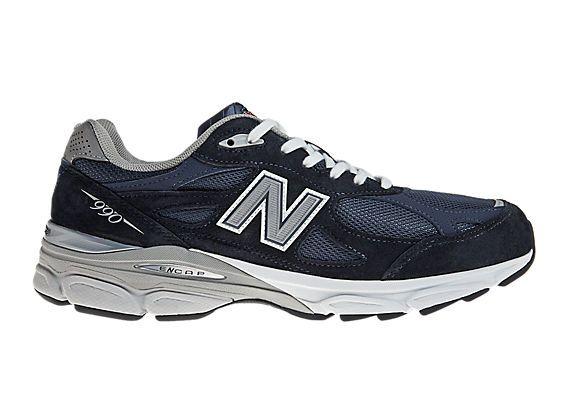 New Balance 990v3 - Navy with Grey