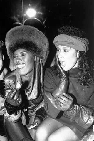 grace jones and whitney houston