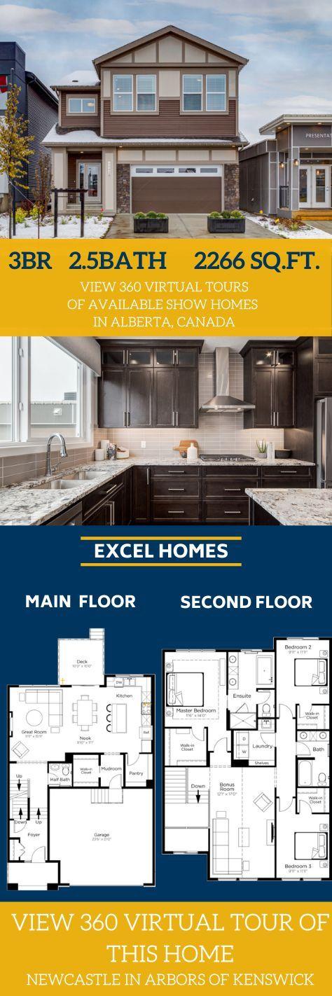 Modern Kitchen Floor Plan Home Design By Excel Homes Floor Plans Modern Kitchen Floor Plans Show Home