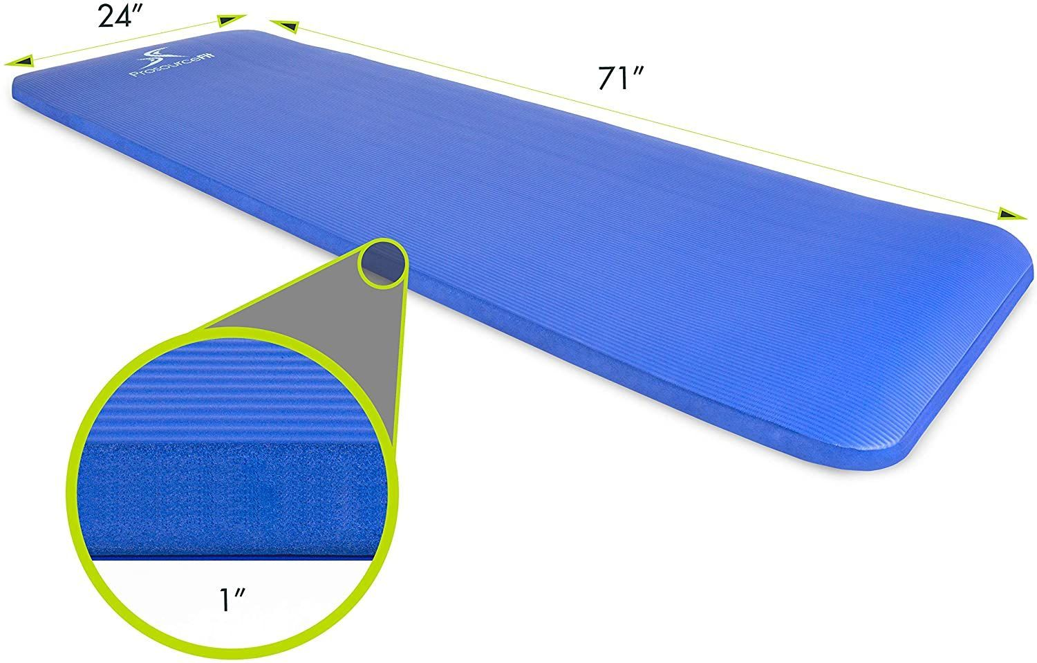 Reduce impact with the Prosource Fit extra thick Yoga and