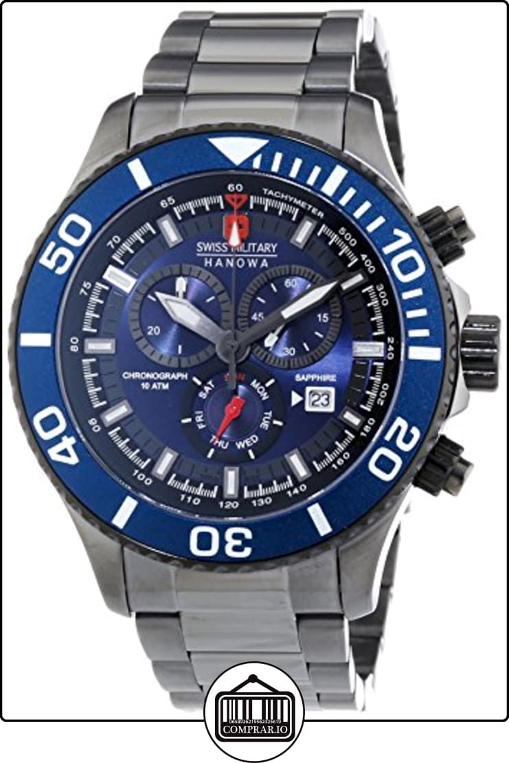 d188cfc6bfd7 Swiss Military Hanowa 6-5226.30.003 - Reloj de cuarzo para hombre ...