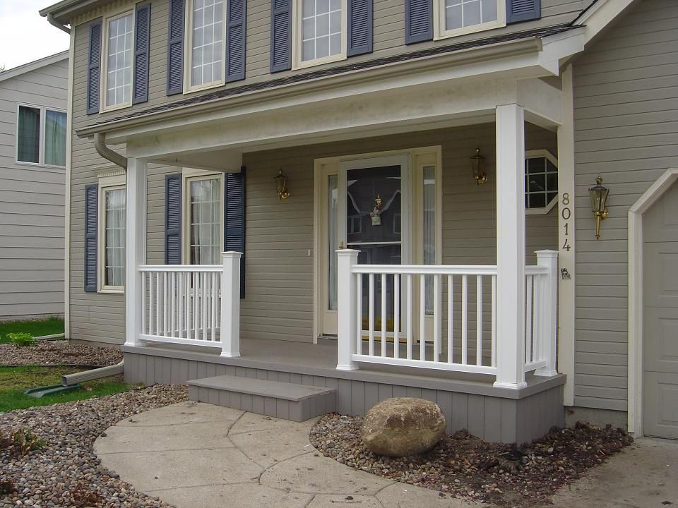 New Front Porch In Des Moines NW