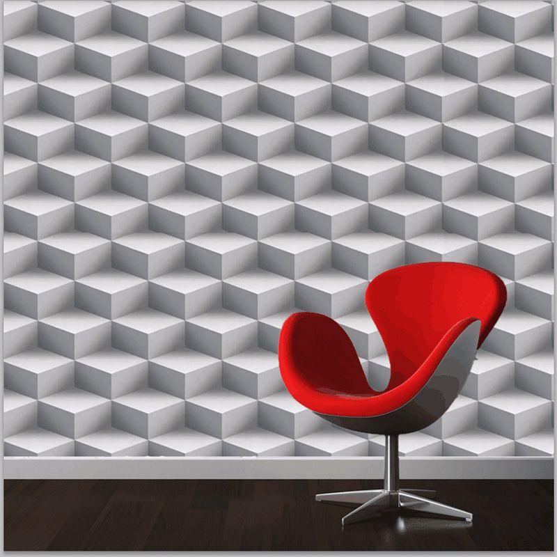 Modern 3d Wallpapers Personalized Lattice 3d Wall Murals Vinyl Wallpaper Roll Pvc Waterproof Background Wall Papel Tapiz Papel De Contacto Decoracion Del Hogar