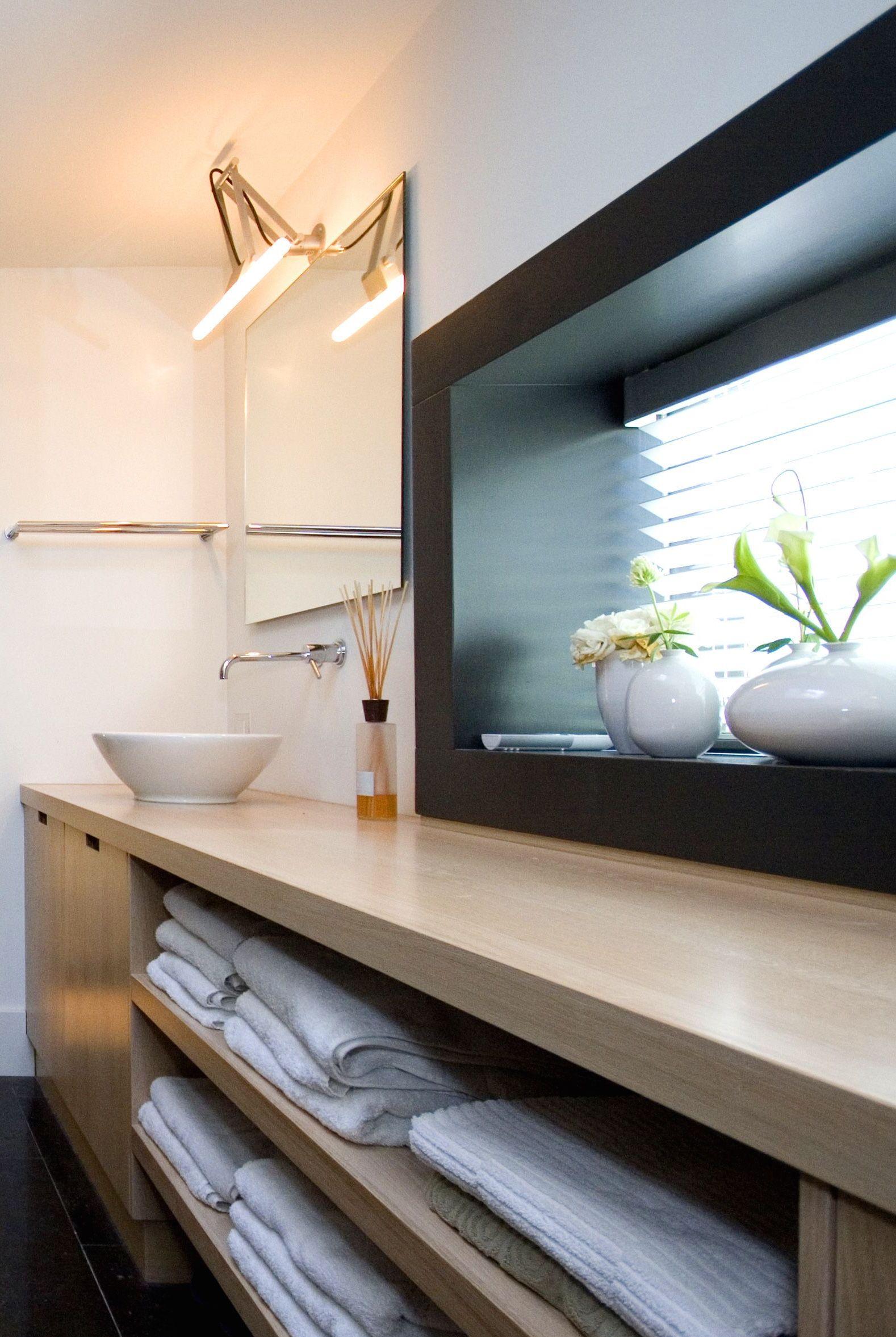 zwaartafelen i idee voor badkamermeubel