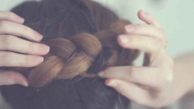 She Lets Her Hair Down: Crown Braid and Rag Curls Video Tutorial