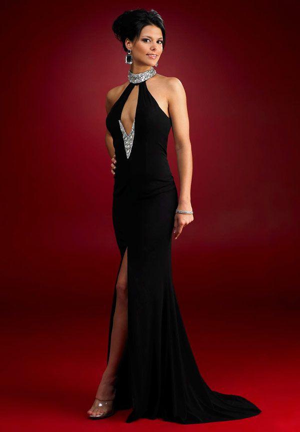 Vestidos largos elegantes para bajitas