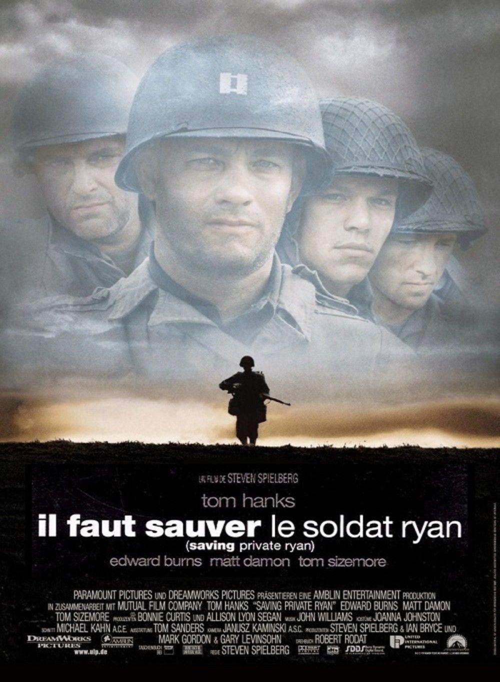 Il faut sauver le soldat Ryan, Spielberg carteles