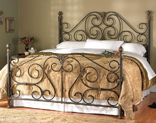 15 Iron Bed Frames For Awesome Bedroom Di 2020 Tempat Tidur Mebel Keranjang Besi