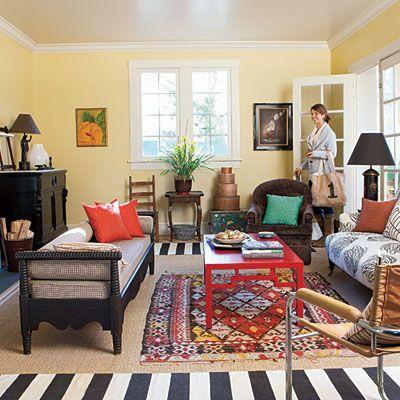 Living Room Ideas Modern Vintage need a living room makeover? | sisal rugs, living room decorating