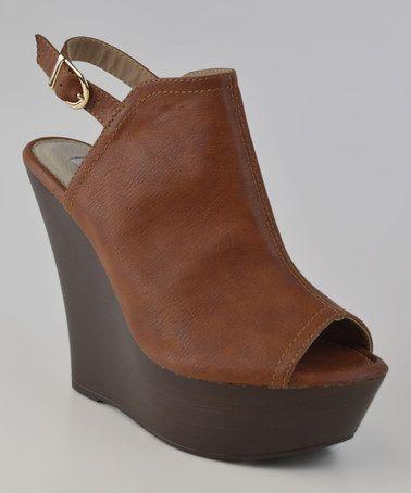 Camel Aua Sandal by Elegant Footwear #zulily #zulilyfinds