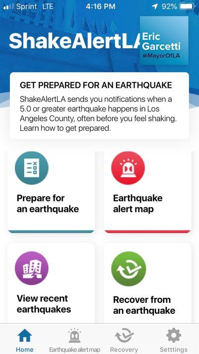 Earthquake warning? There's an app for that — in Los