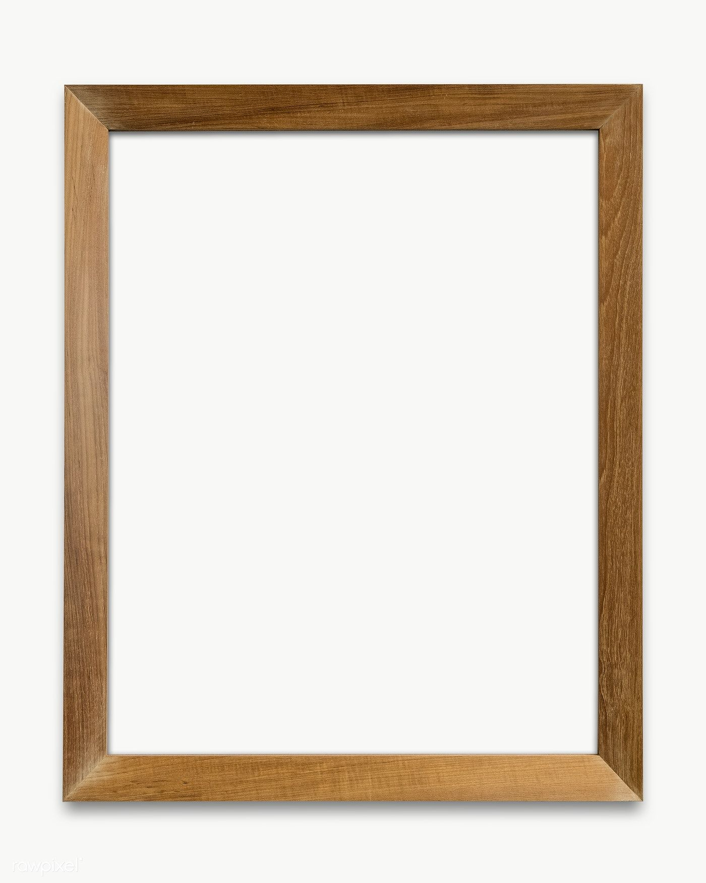 Wooden Picture Frame Mockup Transparent Png Premium Image By Rawpixel Com Picture Frames Wooden Picture Wood Photo Frame