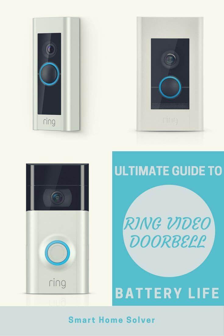 Ring Doorbell Battery Review Battery Life Recharging And More Details Smart Doorbell Ring Doorbell Home Technology