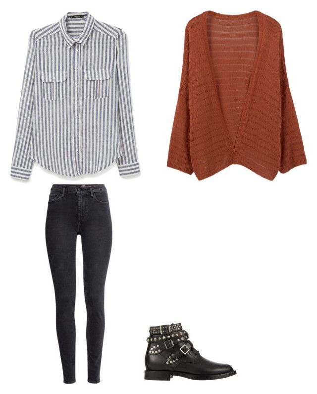 """Übergangsjahreszeiten-Outfit"" by alina-316 on Polyvore featuring Mode, MANGO, H&M und Yves Saint Laurent"