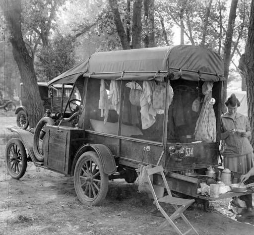1918 camping