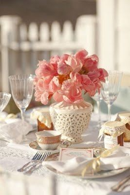 Pretty Afternoon Tea Table Setting & Pretty Afternoon Tea Table Setting | Afternoon Tea | Pinterest ...