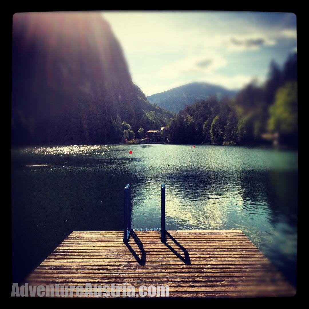 Lake Tristach near Lienz, Austria Landlocked country