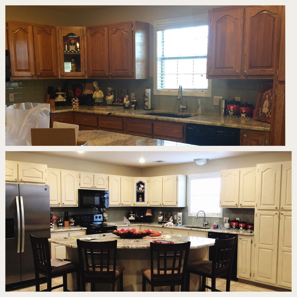 The Epic How To Paint Your Kitchen Cabinets Tutorial Tsp Cleaner Clean Kitchen Cabinets Kitchen Cabinets