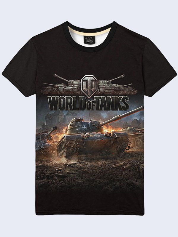 f56a34550cd2c Men s Game World of Tanks T-Shirt Novelty 3D Print Funny Fashion size S-2XL   Vilno  GraphicTee