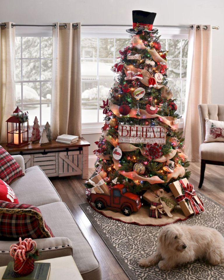 Gorgeous Rustic Christmas Decorating Ideas (47 Tis the season