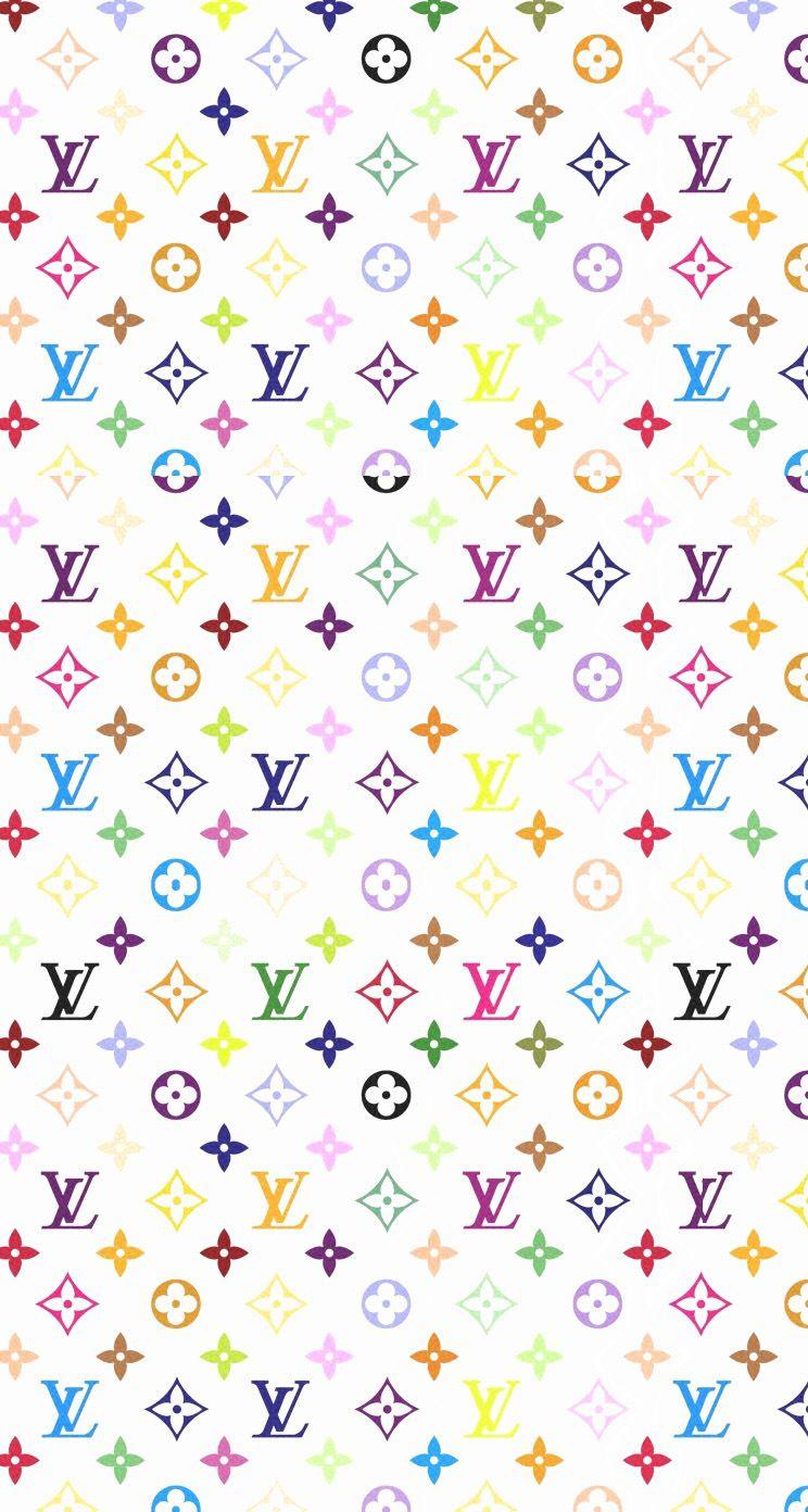 Black Rainbow Louis Vuitton Wallpaper