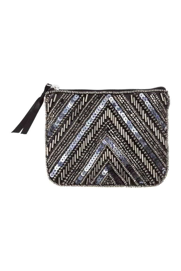 Kabelka s flitrovou výšivkou | H&M | yes | Bags, Embroidery y Beaded ...