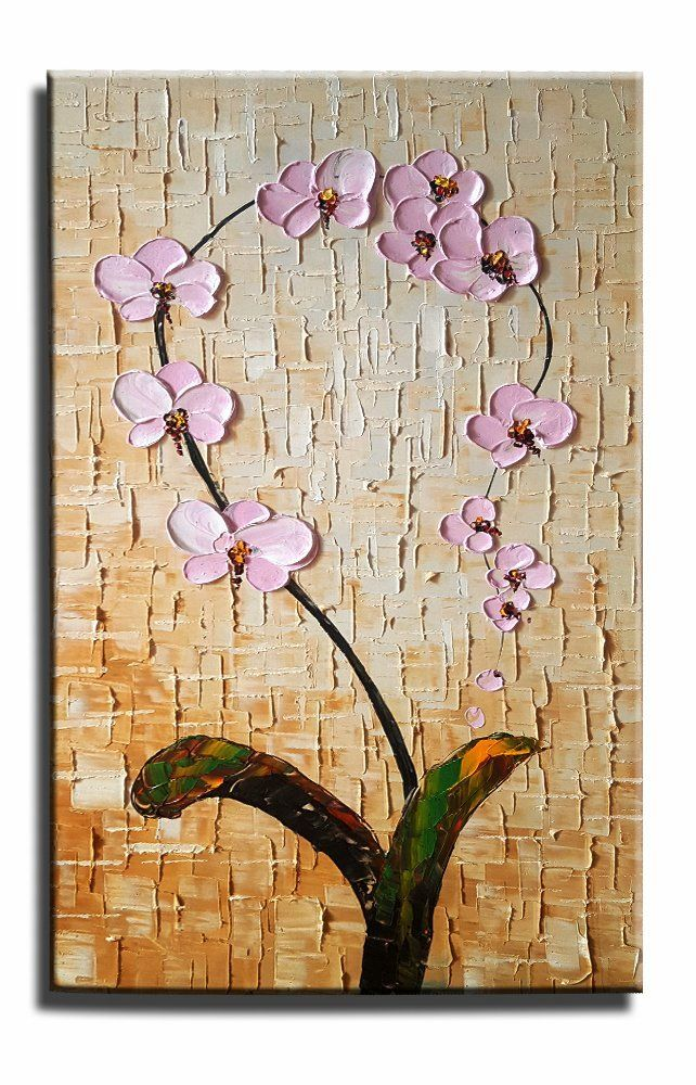 Kitchen Wall Texture canvas painting, heavy texture painting, wall art, kitchen wall