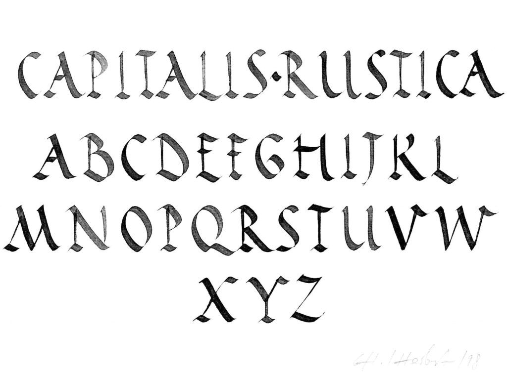 Calligraphy Alphabets A List Of Major Historical Scripts Letras